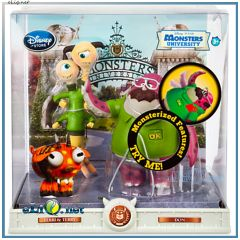 Набор фигурок Дон, Терри-и-Терри Университет Монстров. Don & Terry&Terri Action Figure Play Toy Set Monsters University. Disney