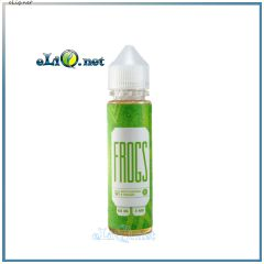 Зеленый чай FROGS - жидкость для заправки электронных сигарет от Frog Fom Fog 60 мл. Украина.