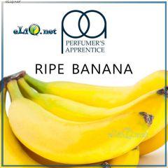 10 мл TPA Ripe Banana - Спелый банан - ароматизатор для самозамеса, оригинал США.