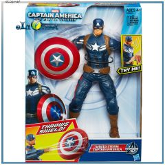 Говорящий Капитан Америка Дисней. Captain America: The Winter Soldier Action Figure DIsney Hasbro
