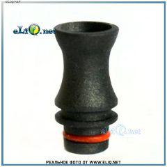 [510] Фигурный дрип-тип / мундштук из тефлона (Teflon / PTFE)