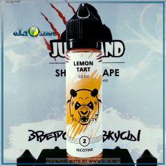 60 мл Lemon Tart Juiceland - жидкость для заправки электронных сигарет Juiceland Lab. Украина.