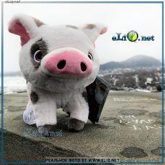 Плюшевая свинка Пуа из Моаны. Pua Soft Toy Moana Disney. Дисней оригинал
