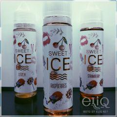 IVA Sweet ICE Raspberries 60мл - авторская жидкость для заправки электронных сигарет. Украина.