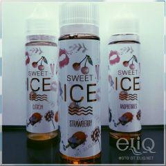 IVA Sweet ICE Strawberry 60мл - авторская жидкость для заправки электронных сигарет Ива Украина. Клубника со льдом