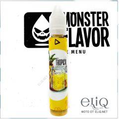 Monster Flavor Tropical Island 30мл - жидкость для заправки электронных сигарет Украина. Тропический остров, ананасовый лимонад.
