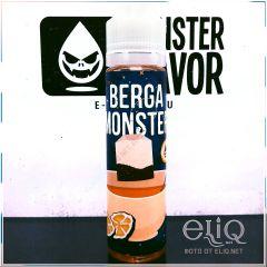 Monster Flavor Berga Monster 60мл - жидкость для заправки электронных сигарет. Украина. Берга Монстр, чай с бергамотом.
