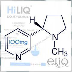 Никотин 100мг/мл HiLIQ Premium, органический, премиальный, для самозамеса электронных сигарет