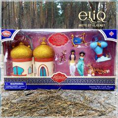 Набор Аладдин с Жасмин и домиком, Игрушка Дисней оригинал США. Волшебная лампа Аладдина.