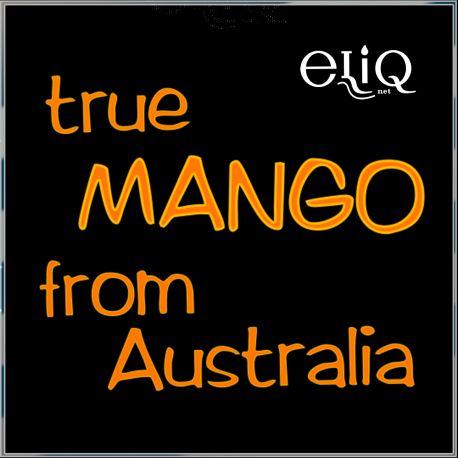 50 мл. True Australian Mango (eliq.net) - вейп-жидкость для заправки электронных сигарет. Австралийское Манго