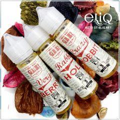 60ml Gee! Rabbit Hole - жидкость для заправки электронных сигарет Гии: воздушные рисовые хлопья, молоко и корица. Кроличья нора
