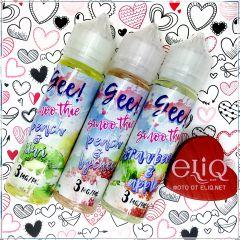 60ml Gee! Smoothie Strawberry & Apple жидкость для заправки электронных сигарет Гии: смузи сочная клубника и кислое яблоко