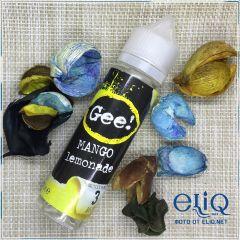 60ml Gee! Mango Lemonade - жидкость для заправки электронных сигарет Гии: манго лимонад