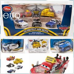 Набор фигурок Cars To Protect and Serve Disney, Тачки Дисней оригинал США.
