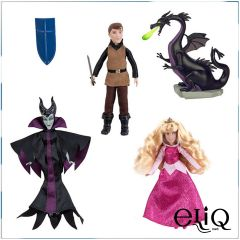 Набор игрушек - кукол Дисней Спящая Красавица. Sleeping Beauty Mini Doll Set Disney оригинал