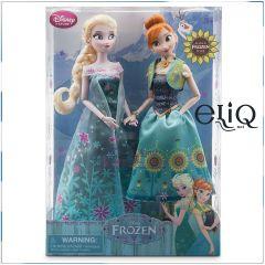 Набор Куклы Анна и Эльза, Frozen, Disney Холодное сердце. Дисней оригинал США, классические