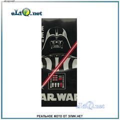 Термоусадка Звездные Войны Дарт Вейдер для аккумуляторов 18650. Star Wars оплетка, термоусадочная пленка