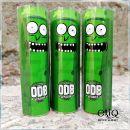 Термоусадка ODB wraps Зелёный бамбук с весёлой рожицей для аккумуляторов 18650 оплетка, термоусадочная пленка