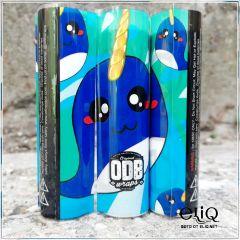 Термоусадка ODB wraps Кит-Единорог для аккумуляторов 18650 оплетка, термоусадочная пленка