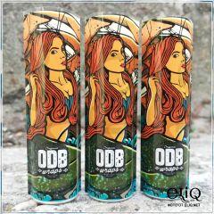 Термоусадка ODB wraps Рыжая девушка для аккумуляторов 18650 оплетка, термоусадочная пленка