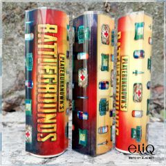 Термоусадка Battlegrounds для аккумуляторов 18650 оплетка, термоусадочная пленка