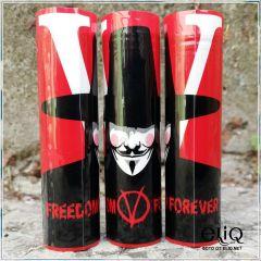 Термоусадка Freedom Forever для аккумуляторов 18650 оплетка, термоусадочная пленка