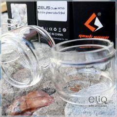 22x30 Колба Bubble Glass для Geekvape Zeus Dual RTA 5,5ml - двуспирального атомайзера ГикВейп Зевс РТА. Оригинал.