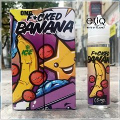 60ml F*cked Liquids Banana Ice. Жидкость для заправки электронных сигарет. Банан, смородина, холодок