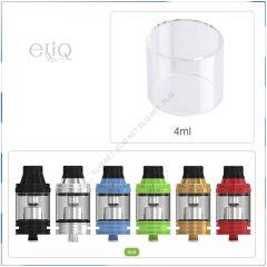 20 х 24.3 мм, 4 мл Стекло, колба для Eleaf iJust 3 и атомайзеров ELLO/ ELLO Duro/ ELLO VATE. Оригинал.
