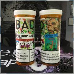 Bad Drip Don't Care Bear - премиум жидкость для заправки электронных сигарет. США. Груша, персик, дыня, желейные мишки.