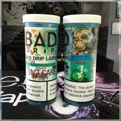 Bad Drip Don't Care Bear Iced Out - премиум жидкость для заправки электронных сигарет. США. Мишки, персик, дыня, груша, холодок