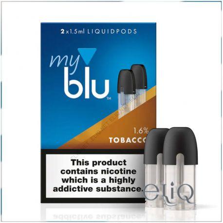 Картриджи для Blu, 1.5 мл, 2 шт. Pods MyBlu
