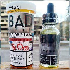 Bad Drip Bad Blood SALT - премиум жидкость для заправки электронных сигарет. США. Черника, гранат, ваниль. Соль