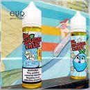 60 мл The Brazz Chilled Dr. Shugar - жидкость для заправки электронных сигарет. Голубая малина, сладкая вата, холодок