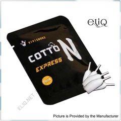 Cotton Express ViviSmoke - коттон, вата для обслуживания атомайзеров RBA и RTA.