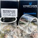 15 х 22 мм. Стеклянная колба для атомайзера Vandy Vape Berserker Mini MTL RTA. Оригинал.
