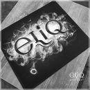 """ELIQ Vape Mat """"Vape Tricks"""" черный. Cупер-коврик для намоток, мышки или рабочего места от Элик"""