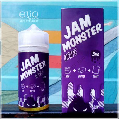 100 мл Jam Monster Grape - жидкость для заправки электронных сигарет. Джем Монстр виноград