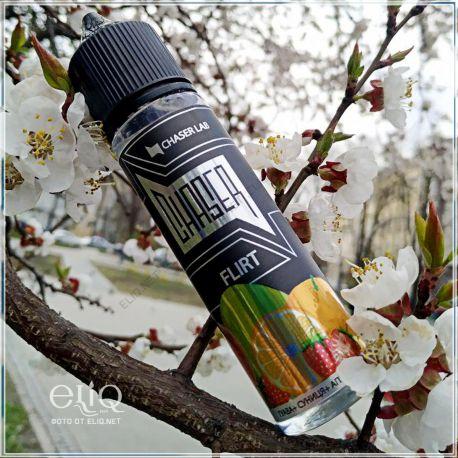 60ml Flirt Ice Chaser. Жидкость для электронной сигареты. Флирт Чейзер. Гуава, земляника, апельсин, холодок