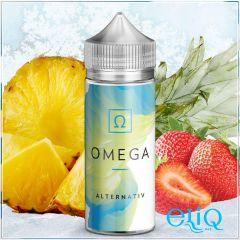 100ml Alternativ E-Juice - Omega - премиум жидкость для заправки электронных сигарет Омега: ананас + клубника