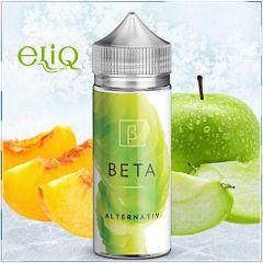 100ml - Alternativ Ejuice - Beta премиум жидкость для заправки электронных сигарет персик + яблоко.