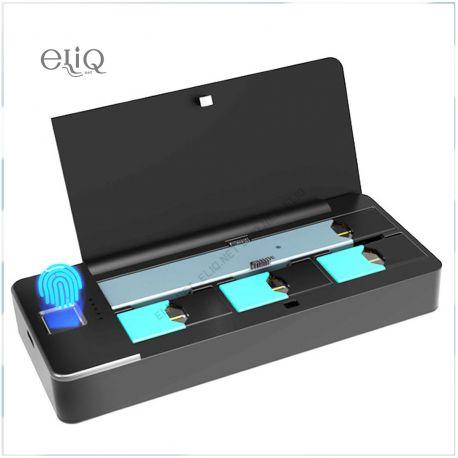 Wellon Pandora Juul PCC 1000mAh - Пандора - кейс с подзарядкой Джул / Fingerprint locker