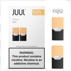 2шт JUUL POD 5% Creme - Картридж (под) для электронной сигареты, Pod-системы Джул