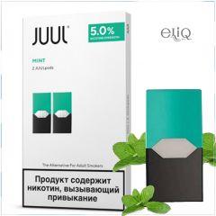 2шт JUUL POD 5% Mint - Картридж (под) для электронной сигареты, Pod-системы Джул Мята
