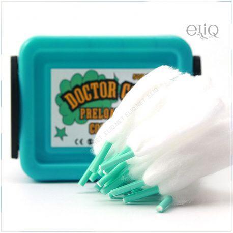 50шт Advken Doctor Coil Cotton - коттон, вата для обслуживания атомайзеров RBA и RTA.
