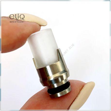 [510] 19.5 mm дрип-тип стекляный. Мундштук для атомайзера