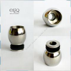 [510] 10 mm низкий стальной широкий дрип-тип. Мундштук для атомайзера