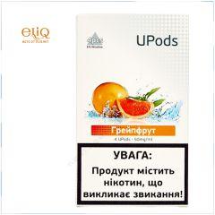 4шт JUUL Upods Грейпфрут - Картридж (под) для электронной сигареты, Pod-системы Джул