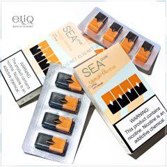 4шт JUUL SEA pods Mango - Картридж (под) для электронной сигареты Джул Манго
