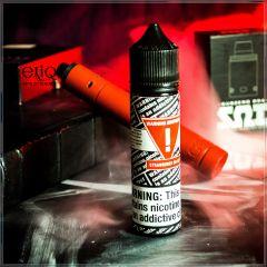 Warning Brothers Strawberry On Ice - вейп-жидкость для заправки электронных сигарет Клубника с мятой
